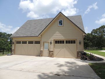 Beaumont Garage Front Elevation