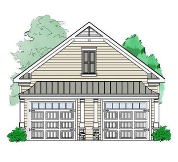 Coleman Garage front elevation