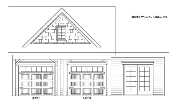 Jacob Garage Front Elevation