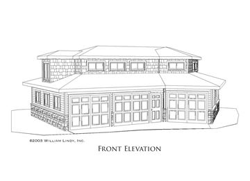 Norman Garage Front Elevation