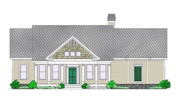Blue Ridge Front Elevation