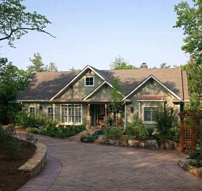 Briarcliff Front Elevation (w/o garage)