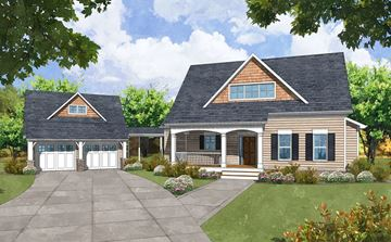 Glenridge Front Elevation Rendering