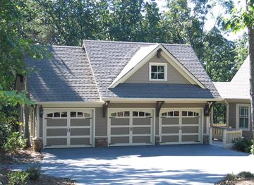 Briarcliff Garage Front  Elevation