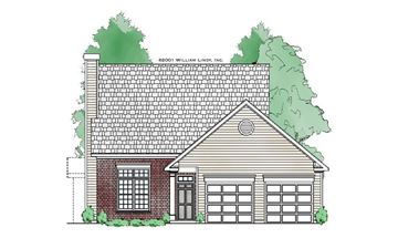 Ansley (2 Car) Front Elevation