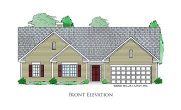 Woodland Front Elevation