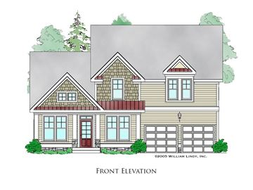 New Albany Front Elevation