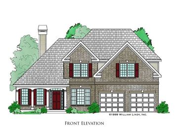 Bruberry Front Elevation