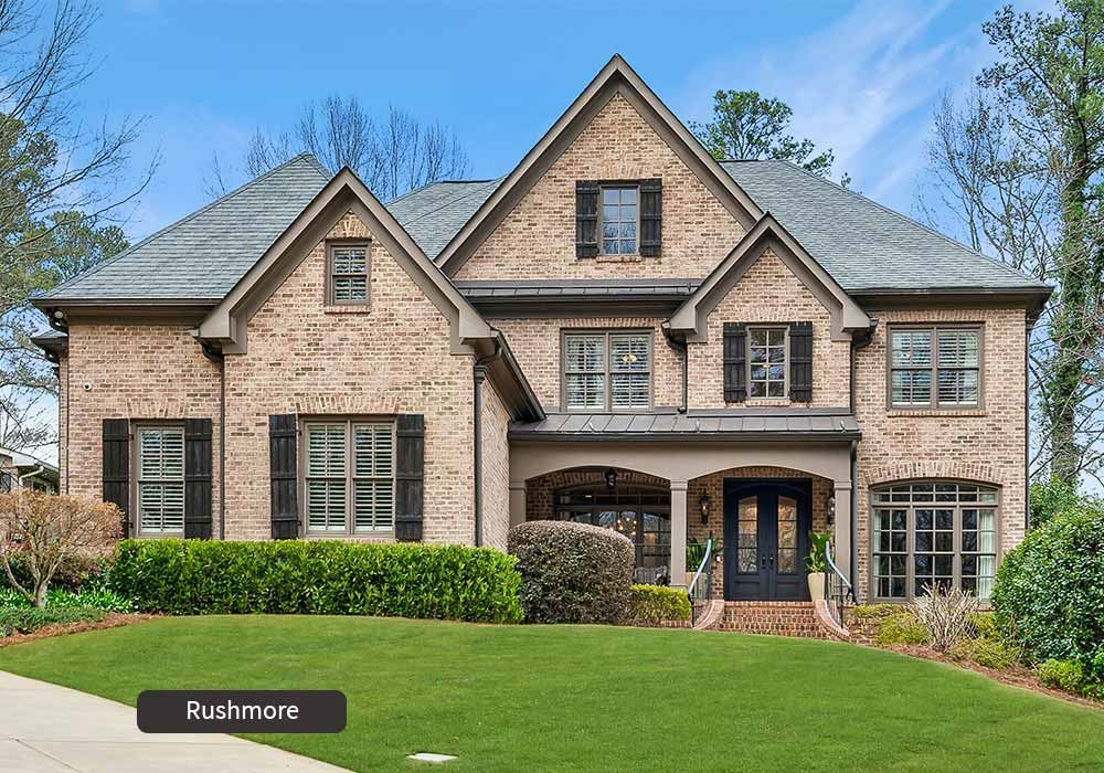 Rushmore Front Elevation